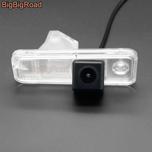 цена на BigBigRoad Car Rear View Camera For Hyundai IX25 2013 2014 2015 Santa Fe Azera Carens Creta Grand SantaFe IX45 XL Grandeur HG