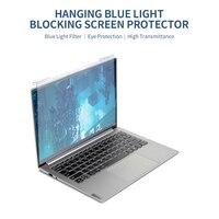 Protector de pantalla de ordenador portátil, película de alta transmisión Anti-UV de bloqueo de luz azul colgante para portátil de 12,5 pulgadas con relación de aspecto 16:9