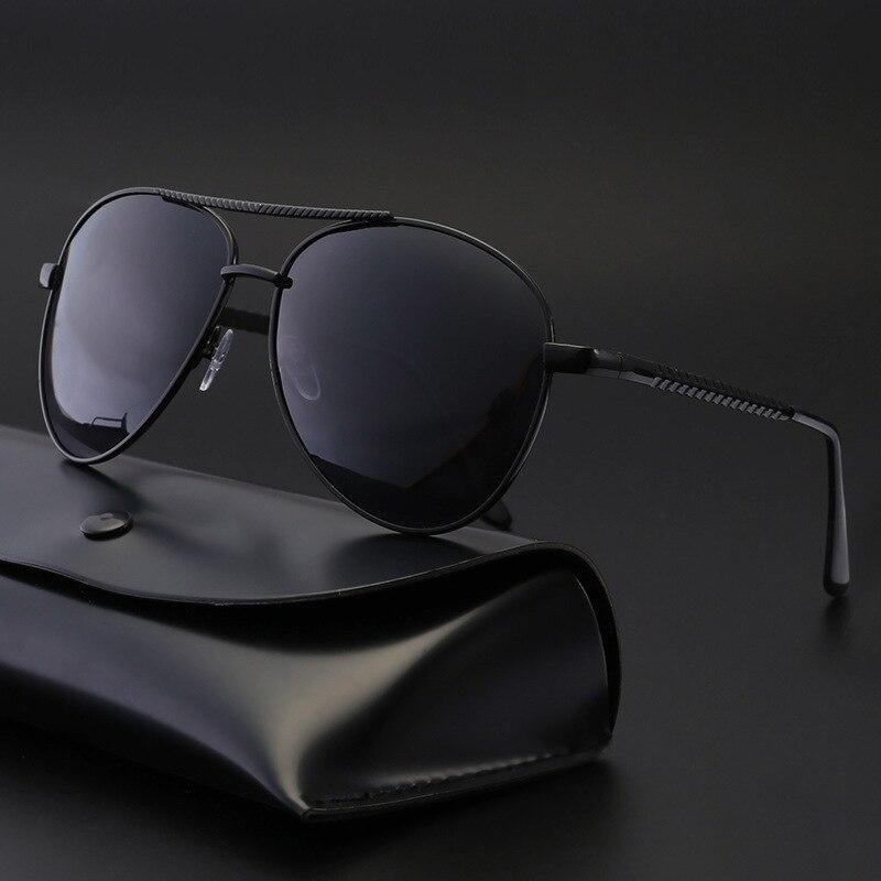Поляризованные солнцезащитные очки для вождения Gafas De Sol дизайнерские мужские ретро дешевые мужские