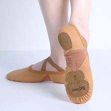 Professional Ballet Shoes Soft Three Split Sole Women Girls Ballerina Dance Shoes Stretch Fabric Mesh Splice Ballet Slippers