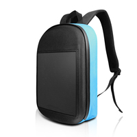 SOLLED LED Screen Display Backpack DIY Wireless Wifi APP Control Advertising Backpack Outdoor LED Walking Billboard Backpack|Advertising Lights| |  -