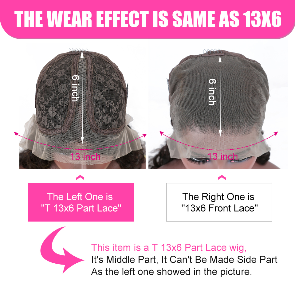 Yyong 1X6 T Part Lace Wig Short Bob Closure Wigs  Straight Lace Closure  Bob Wig With Baby Hair  120% 2