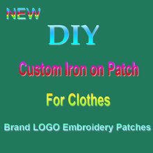 DIY Custom Sew-on/Iron-on Embroidered Patches For Clothes Brand Logo Patches On Clothing Handmade Badge Decal Stripes Washable