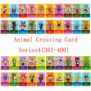 NS Game Series 14(361 to 400) Animal Crossing Card Amiibo Card Work for English version