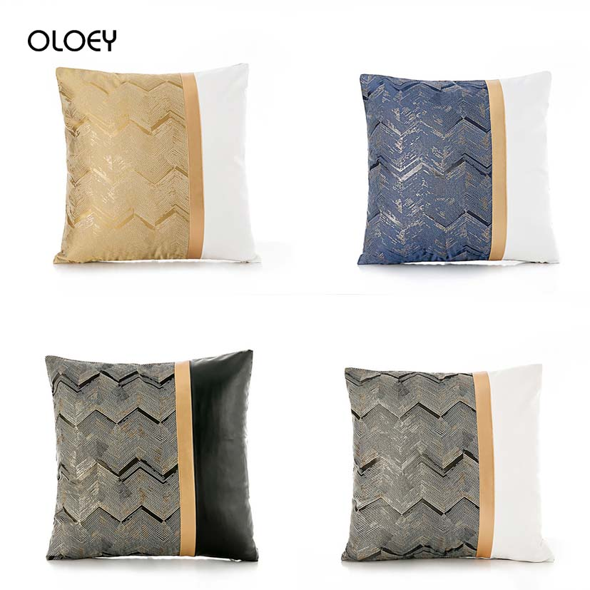 Unique Style Classic Luxury Pillow Case Home Bedroom Hotel Bed Car Seat Decoration Pillow Case Soft And Comfortable 45 * 45cm  .
