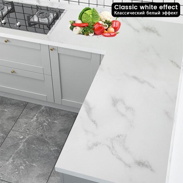 Waterproof Marble Self-adhesive wallpaper 4