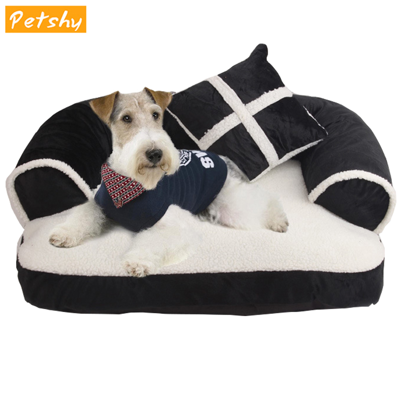Petshy Soft Dog Cat Bed House Sofa Pet Sleeping Pad Cushion Mat Puppy Cats Nest Bed Home Pets Dog Kennel Loungers Pet Supplies