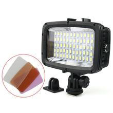 Diving Led Video Light 40M Waterproof Underwater Led Photography Cctv Camera Lighting Led Outdoor Cameras Lamp Sl-101 Case(China)