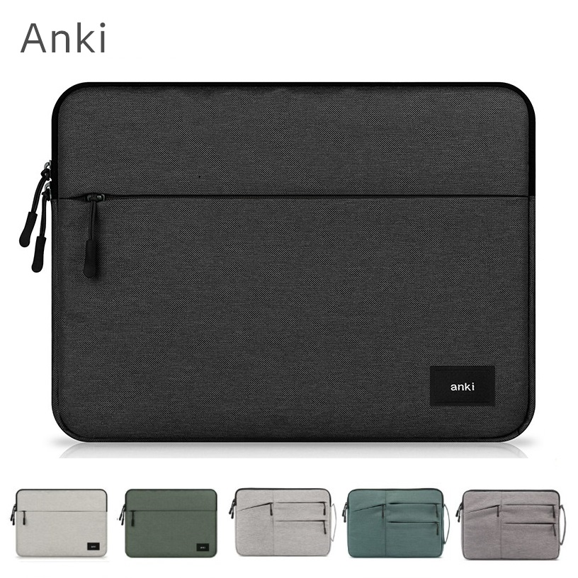 "2020 New Brand Anki Sleeve Case For Laptop 11"",12"",13"",14"",15"",15.6 inch, Bag For Macbook Air Pro 13.3"",15.4"",Free Drop Shipping"