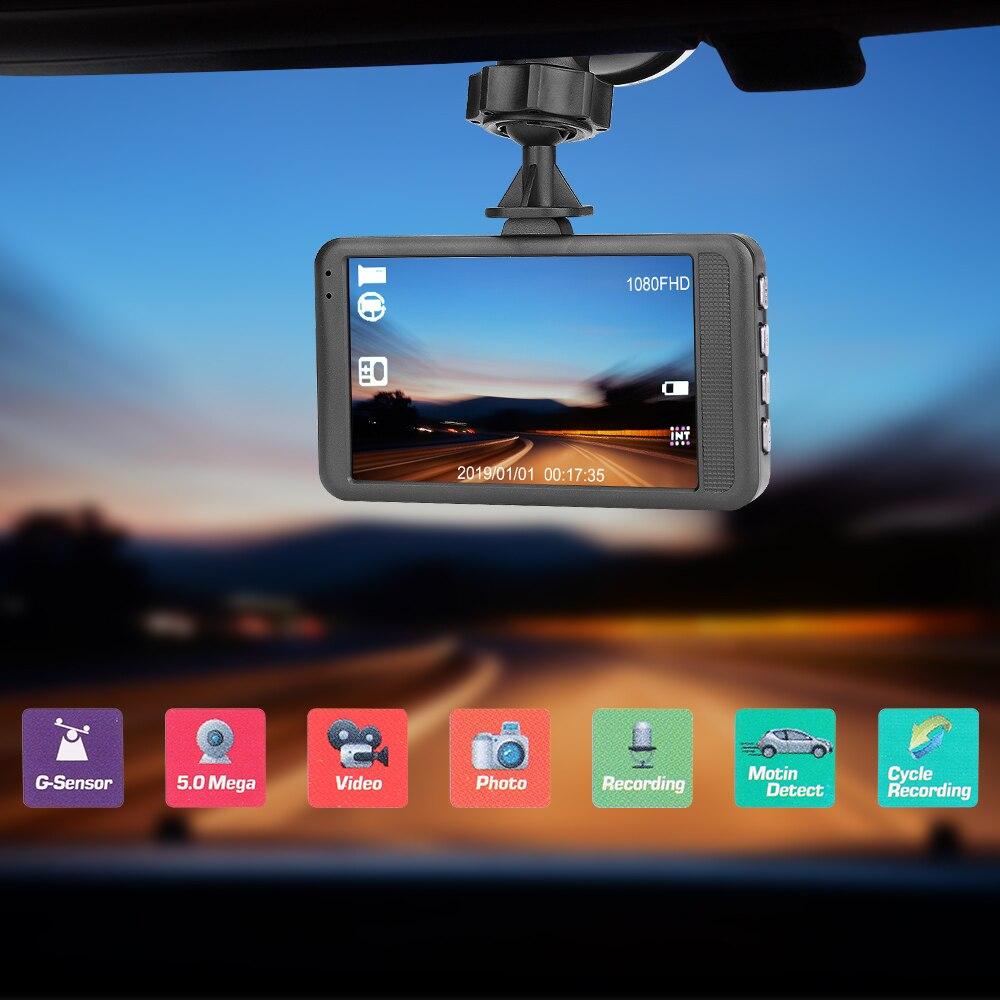 1080P 3Inch 170 Degree Car Accessories DVR Auto Radio Dash Cam Radio Cassette Player Auto Products Automobile Camera G Sensor