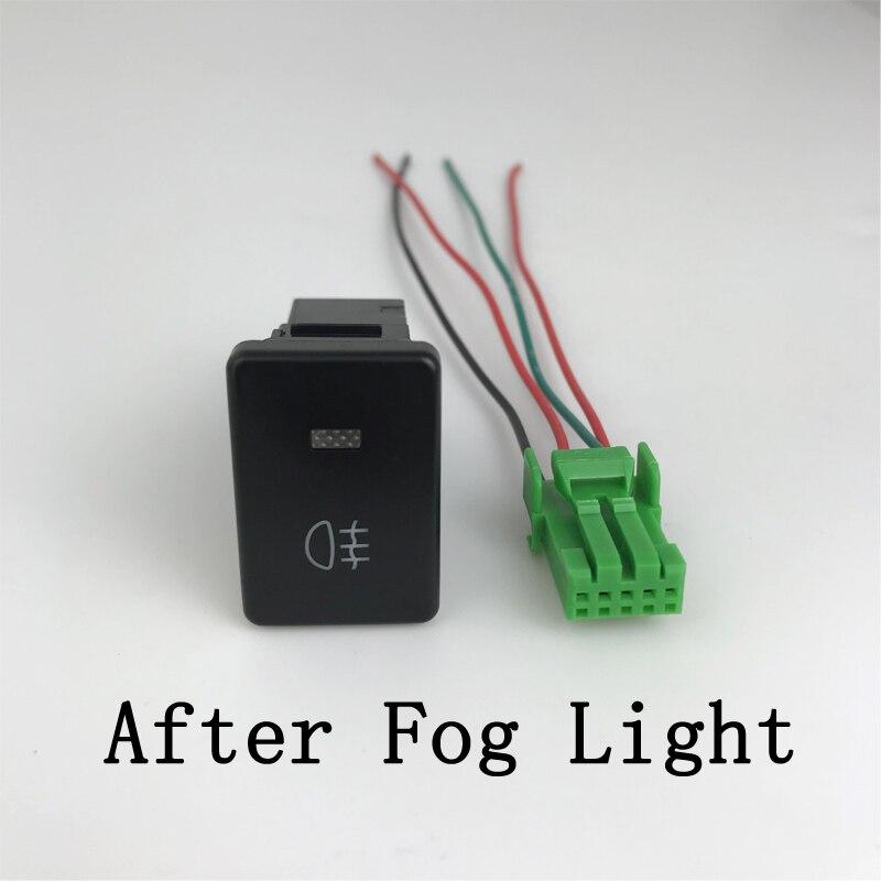 After Fog Light Led Drl Heating Up Tail Gate Front Fog