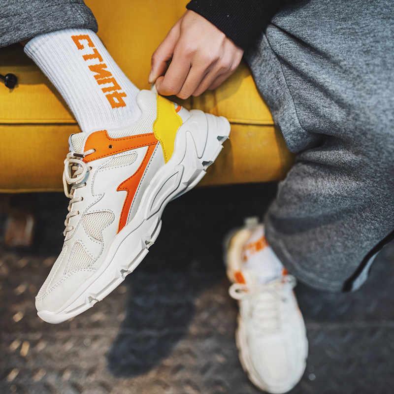 2020 Men Shoes Sneaker Lightweight Casual Men Shoes Breathable Mesh Shoes Men Comfortable Big Size High Quality Footwear