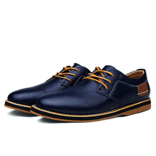 2019 New Men Oxford Genuine Leather Dress Shoes Brogue Lace