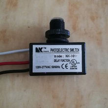 AC 80~277V Photocell Dusk to Dawn Button Photo Control Eye Switch Flush Mount Photoelectric Switch High Quality(China)