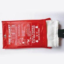 1.5Mx1.5MFire одеяло стекловолокно противопожарное средство аварийная противопожарная защита защитный кожух в случае пожара, при пожаре одеяло