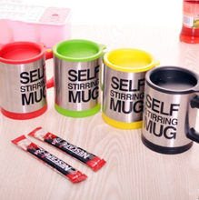 400ml Mugs Automatic Electric Lazy Self Stirring Mug Cup Coffee Milk Mixing Mug Smart Stainless Steel Juice Mix Cup Drinkware(China)