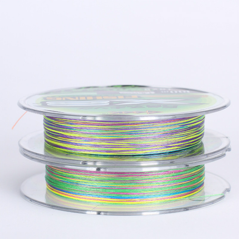 8 Series PE Fishing Line 10 80LB Multifilament PE Braided Fishing Line Wear Resistant Fishing Line Fishing Gear in Fishing Lines from Sports Entertainment