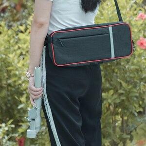 Image 4 - Portable Shoulder Bag for DJI OM 4 Osmo Mobile 3 Handheld Gimbal Carrying Case Protective Storage Adjustable Handbag Accessory