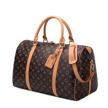 Sacs de voyage étanches hommes/femmes, sac à main de Fitness en cuir, sac à bandoulière Business, grand fourre-tout de voyage, sac à bagages pour hommes/femmes