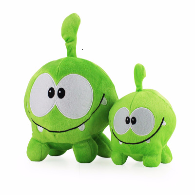 Big 20cm/28cm Cut The Rope Plush Doll Toy Cartoon Cut The Rope Om Nom Stuffed Animals Doll Frog Game Toy For Kids Birthday Gifts