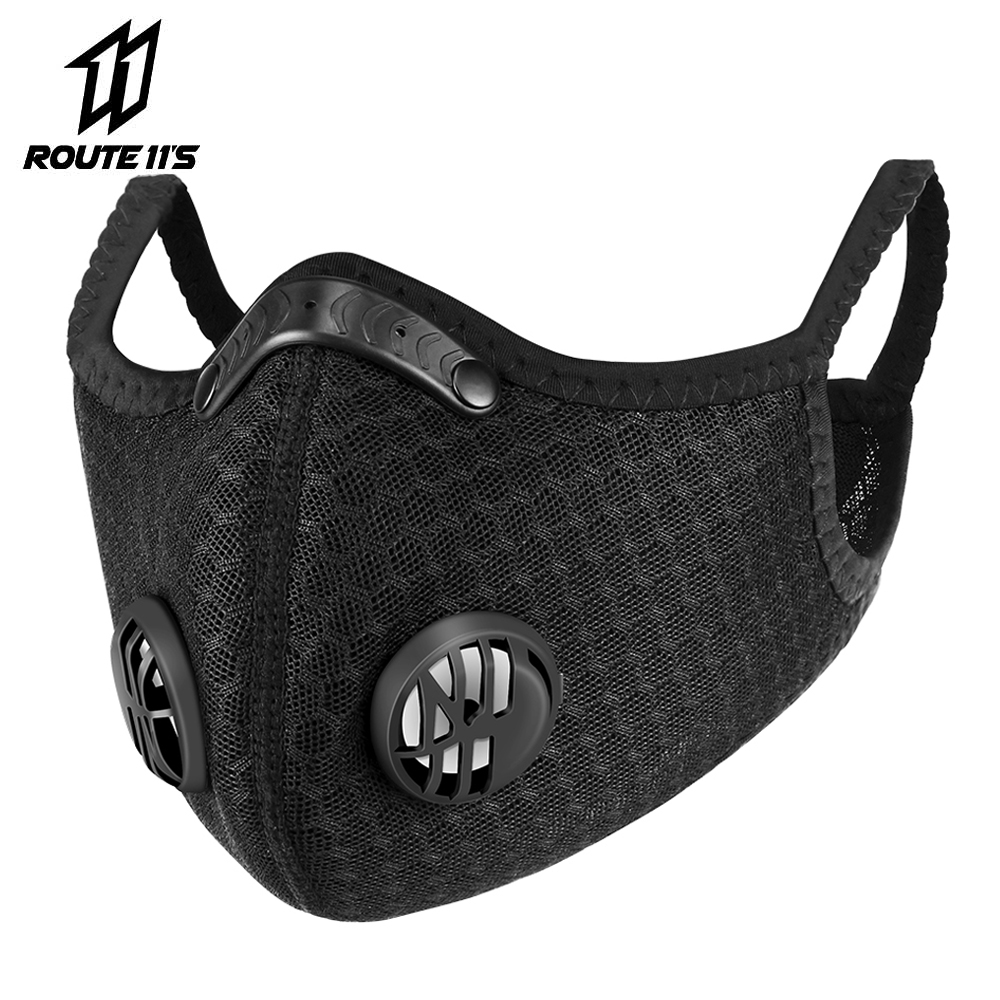 Motorcycle Face Mask Filter PM2.5 Anit-fog Dustproof Balaclava Moto Protection Face Shield Dust Mask Breathable Anti-droplet
