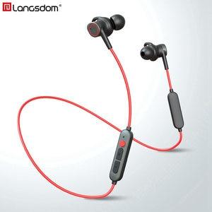 Image 1 - Auriculares Bluetooth Langsdom L80, auriculares inalámbricos con bajos de alta fidelidad IPX6, auriculares inalámbricos deportivos a prueba de agua, auriculares bluetooth