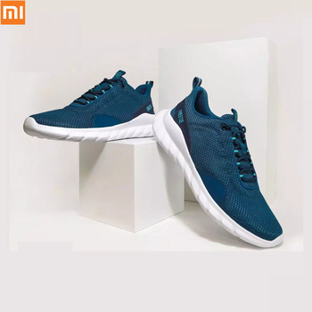 Original Xiaomi FREETIE Sports Shoes Light Ventilate Elastic Knitting Shoes Breathable freshing City Running Smart Sneaker Shoes original xiaomi mijia freetie ultra light running shoes men s city sneaker air mesh breathable eva sole stylish casual shoes