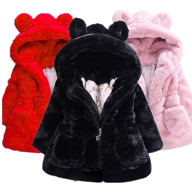 Hooded Fur Jacket 1