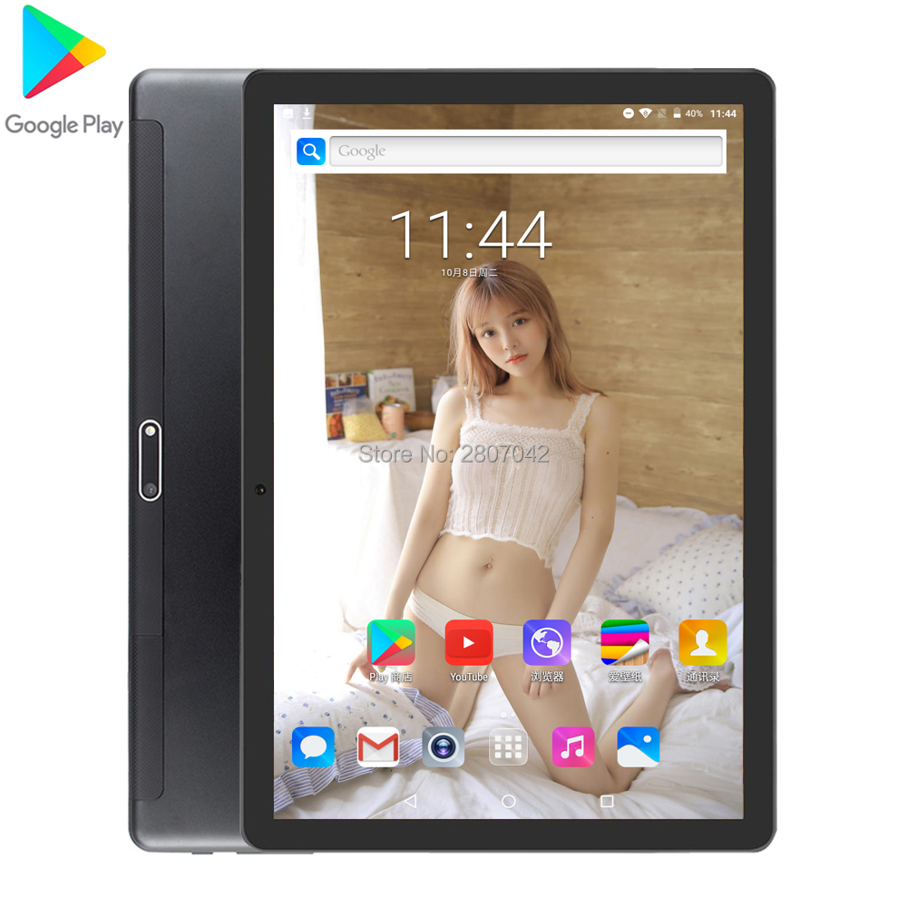 2020 New 10 Inch Tablet PC Quad Core Android 7.0 Dual SIM Cards WIFI GPS Global Tablet 10.1 32GB ROM GPS 10 Inch Tablets