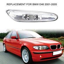 Esquerda/direita carro led fender-side marcador luz de sinalização de volta lâmpada 63137165915/63137165916 substituição para bmw e46 2001-2005