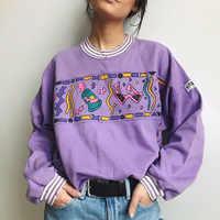 Весна 2020 женская одежда футболка с принтом Повседневная футболка с круглым вырезом Harajuku женская футболка с длинным рукавом Женские топы пу...