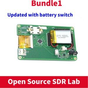 Image 4 - PORTAPACKพร้อมHavocเฟิร์มแวร์กระพริบ + HACKRF ONE 1MHz To 6GHzซอฟต์แวร์SDR De + 1000MAHแบตเตอรี่ + 2.4Touch LCD