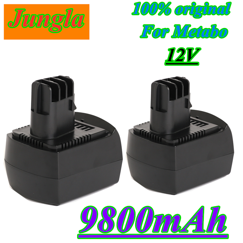 12V 9800mAh Ni-MH Replacement Power Tool Battery for METABO 6.02151.50 BZ12SP BS 12 SP, BSZ 12, BZ 12 SP, SSP 12, ULA96