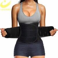 LAZAWG женский пояс для тренировки талии, пояс для живота, контроль талии, триммер, сауна, пот, тренировочный пояс, тонкий пояс для живота, спорт...
