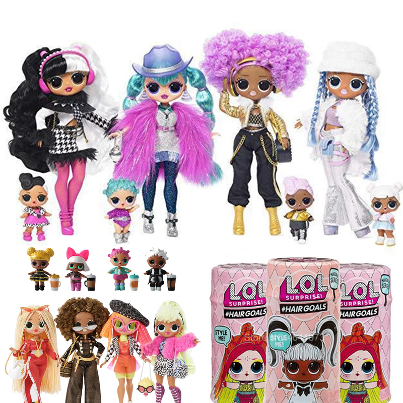 New lol surprise doll Big Size Dolls Pets Confetti Balls Glitter Series Action Figures Toys Anime Girls Christmas Gift Unpacking