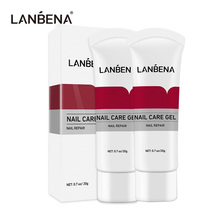 LANBENA Nail Care Gel Fungal Treatment Remove Onychomycosis Nourishing Effective Against Soften Nails Treat Hand Foot Care 2Pcs
