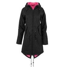 2019 Plus Size Winter Warm Waterproof Long Coat Women Fashion