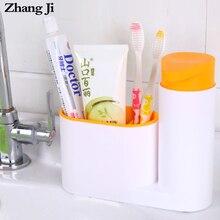 Zhangji Kitchen Liquid Soap Dispenser with Sponge Holder Bathroom Multifunction ABS Hand Pump