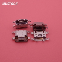 100 Chiếc Micro Mini Jack USB Cổng Sạc Nối Ổ Thay Thế Sửa Chữa Dock Phần Nữ Dành Cho Motorola Moto G4 G4 XT1625