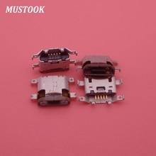 100 pièces Micro mini USB Jack charge port prise connecteur remplacement réparation dock pièces femelle pour Motorola Moto g4 G4 XT1625