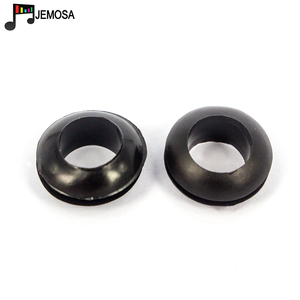 Image 5 - 100PCS Grommets Black Rubber Wiring Grommets Ring Cable Double sided coil O ring Seal ring 3mm/4mm/5mm/6mm/7mm/8mm/10mm