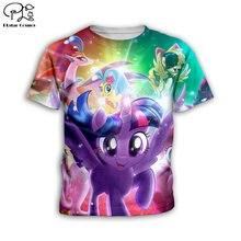 Толстовки с 3d принтом my little pony забавный мультяшный свитшот