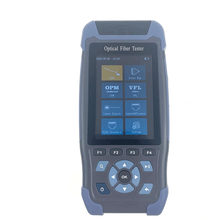 【Original 100% New] OTDR Fiber Optic Reflectometer with 9 Functions VFL OLS OPM Event Map Fiber Cable Ethernet Tester(China)