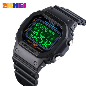 SKMEI спортивные цифровые часы мужские водонепроницаемые Bluetooth наручные часы Шагомер калорий трекер для iPhone Huawei Xiaomi 1629