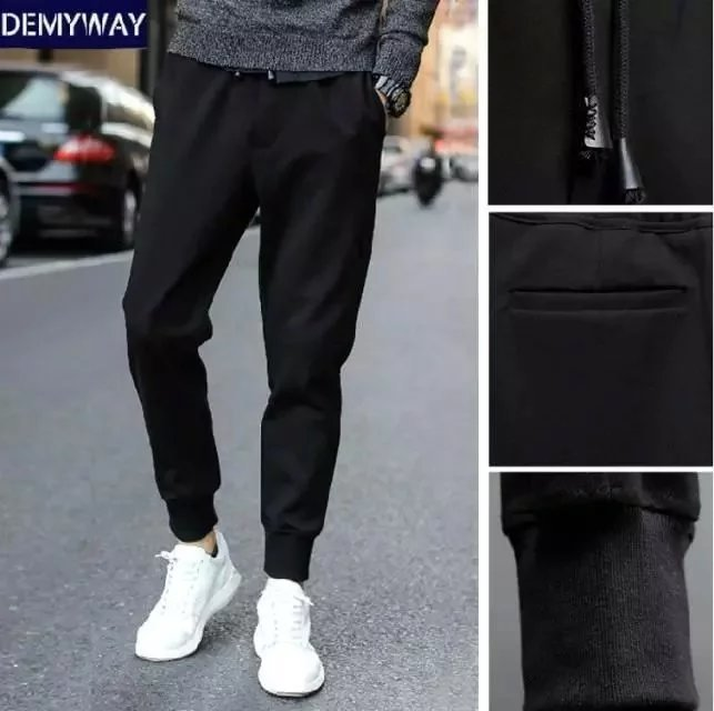 Supply Of Goods Men Harem Pants Ankle Banded Pants Casual Sports Sweatpants Closing Skinny Pants Long Pants