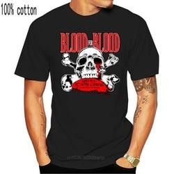 New Popular Blood For Blood Hardcore Punk Band Men Black T Shirt Size S 4Xl