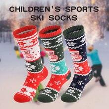 Ski-Socks Thicken Outdoor Sports Winter Cotton Warm Children Skiing X-Tiger for Girls