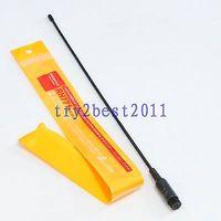 DHL/EMS 10 Sets Antenne RH771 RH 771 SMA stecker pin dual band 144/430MHZ für Yaesu ICOM  C1-in Batteriezubehörteile aus Verbraucherelektronik bei