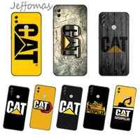 Caterpillar logotipo funda del teléfono para Huawei NOVA 2 2i 2s 3i 4 4e 5 plus P10 lite 20 P20 pro honor10