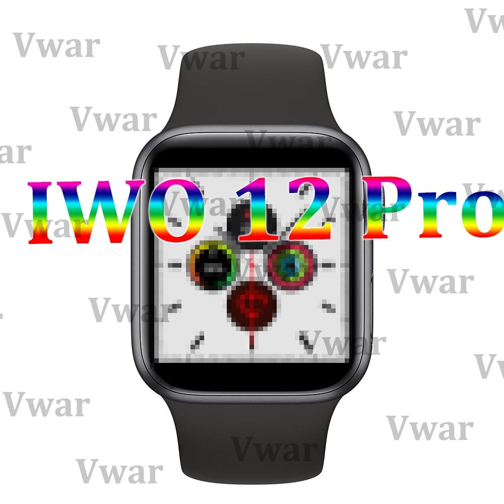 IWO 12 Pro для мужчин серии 5 Смарт часы 1:1 44 мм Чехол IP68 Wtaerproof для Apple IOS Android телефон IWO 11 IWO 8 10 Обновление Smartwatch